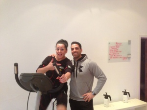 Training mit The Biggest loser Teilnehmerin ,,Agata Bonafe Mongiovi""