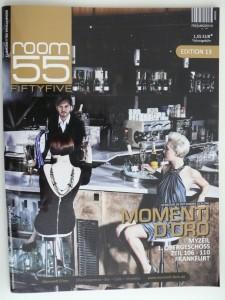 Cover Room 55 mit dem body & mind Artikel vom Personalfitness coach aus Wiesbaden Rosario Battaglia