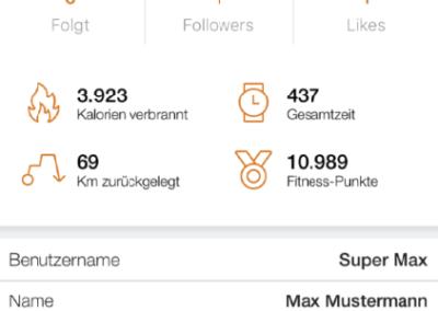 Profil Battaglia PT Fitness app