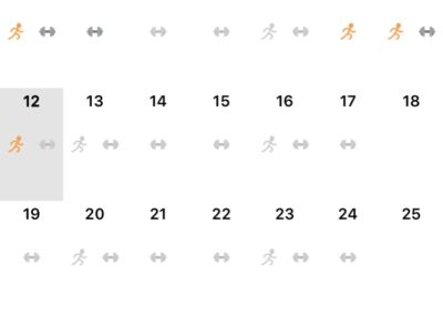TRainingskalender Battaglia PT